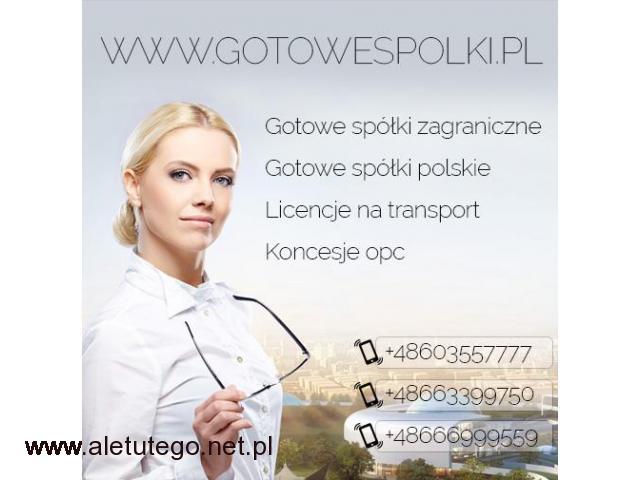Gotowa Spółka/Spółki Łotewskie